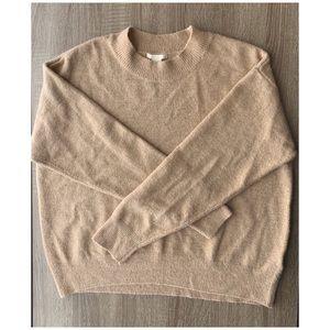 H&M Gold Sweater, M
